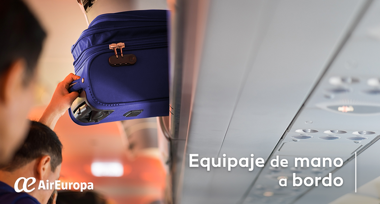 air europa equipaje de mano alimentos