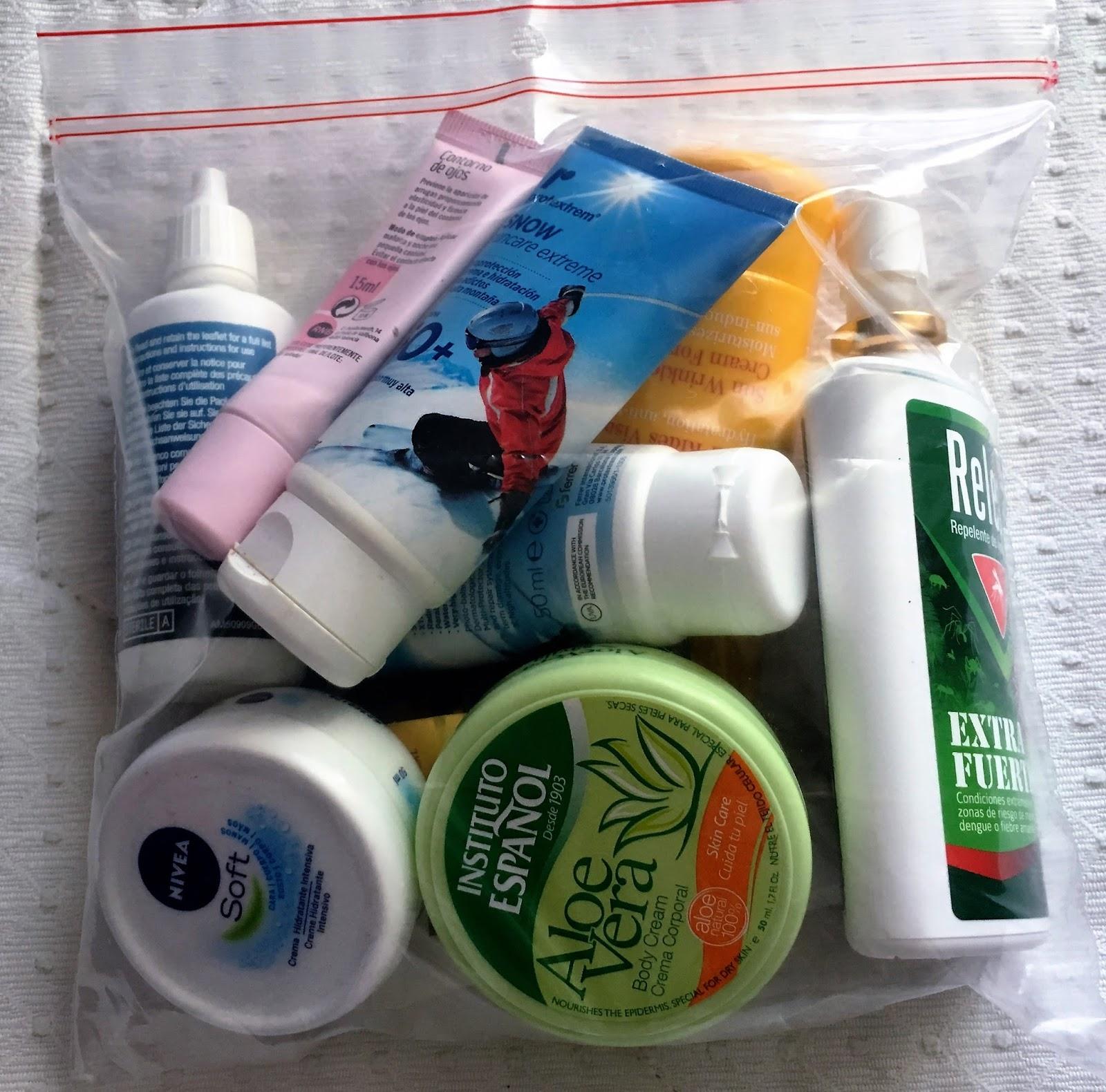 liquidos en equipaje de mano ryanair