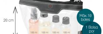 Líquidos en equipaje de mano