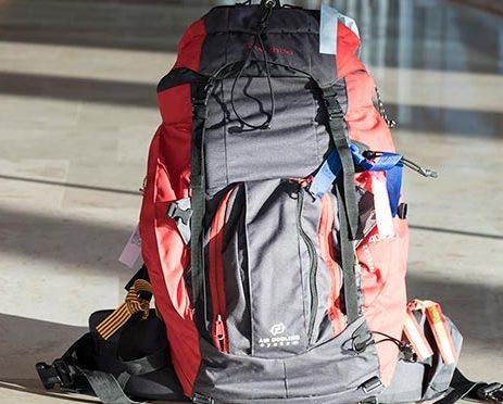 mochila de equipaje de mano