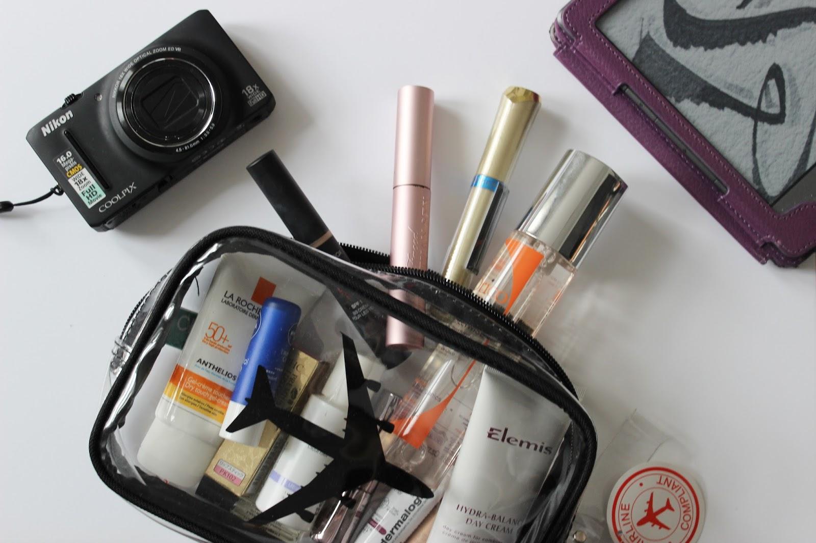 el maquillaje en equipaje de mano