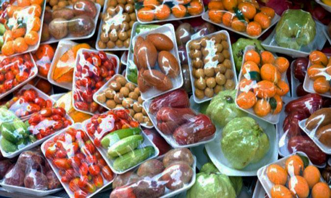 comida envasada en equipaje de mano