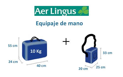 equipaje de mano de aer lingus