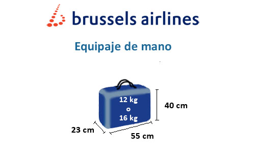 brussels airlines equipaje de mano permitido