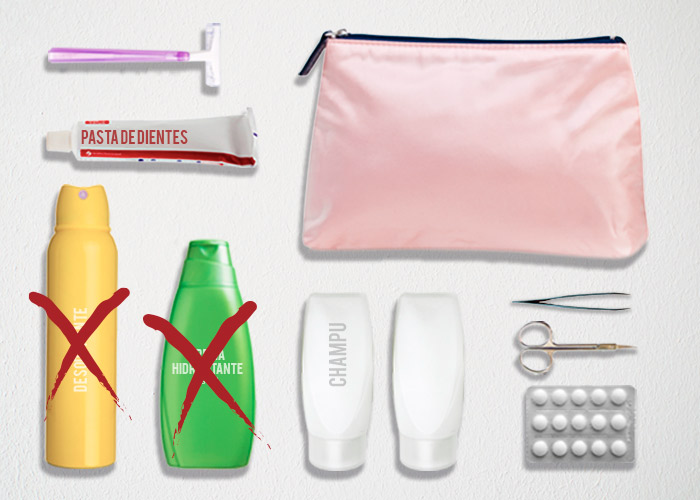que llevar en equipaje de mamo articulos prohibidos